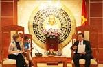 UNICEF tại Việt Nam sẵn sàng hỗ trợ Cà Mau giải quyết khó khăn do ảnh hưởng thiên tai, dịch bệnh