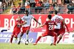 Hải Phòng hòa TP Hồ Chí Minh với tỷ số 0 - 0 trên sân nhà