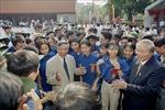 Nguyên Tổng bí thư, Chủ tịch nước Lào Chummaly Sayasone chia sẻ những ấn tượng sâu sắc về đồng chí Lê Khả Phiêu