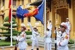 Lễ Thượng cờ kỷ niệm 53 năm Ngày thành lập ASEAN