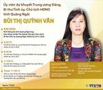 Bí thư Tỉnh ủy, Chủ tịch HĐND tỉnh Quảng Ngãi Bùi Thị Quỳnh Vân