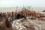 700m đê biển Tây bị sạt lở nghiêm trọng