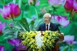 Tổng Bí thư, Chủ tịch nước Nguyễn Phú Trọng: Xây dựng Đảng bộ Quân đội thật sự mẫu mực, thật sự trong sạch, vững mạnh