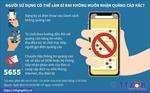 Chủ thuê bao di động có thể đăng ký không nhận tin nhắn, cuộc gọi 'rác' từ 1/10/2020