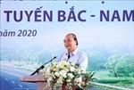 Thủ tướng dự Lễ khởi công Dự án thành phần Mai Sơn - Quốc lộ 45