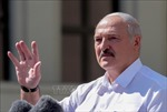Belarus tái khẳng định tính hợp pháp của cuộc bầu cử tổng thống