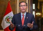 Tòa án Peru bác yêu cầu đình chỉ luận tội Tổng thốngMartin Vizcarra