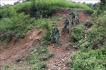 Biên phòng Sơn La khắc phục khó khăn thực hiện nhiệm vụ kép nơi biên giới