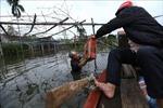 Hà Tĩnh: Nhiều xã của huyện Thạch Hà vẫn chìm trong biển nước