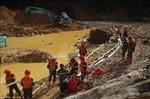 Cơ bản hoàn thành giai đoạn 3 tìm kiếm nạn nhân tại Thủy điện Rào Trăng 3
