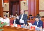 Phiên họp thứ 5 của Tiểu ban Tổ chức phục vụ Đại hội XIII của Đảng