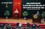 Thủ tướng: Học viện Quốc phòng cần tiếp tục có phương án đấu tranh với quan điểm sai trái, thù địch
