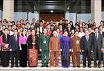 Chủ tịch Quốc hội Nguyễn Thị Kim Ngân tiếp Đoàn đại biểu dự Đại hội toàn quốc các dân tộc thiểu số
