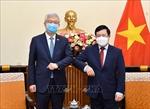 Phó Thủ tướng Phạm Bình Minh tiếp Thứ trưởng Bộ Ngoại giao Hàn Quốc