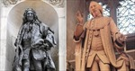 Anh di dời tượng hai nhân vật lịch sử liên quan tới chế độ nô lệ