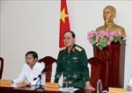 Đoàn công tác Bộ Quốc phòng làm việc tại Bình Thuận về dự án Cảng hàng không Phan Thiết