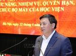 Học viện Chính trị quốc gia Hồ Chí Minh chú trọng nguồn nhân lực cho chuyên ngành khoa học lý luận chính trị