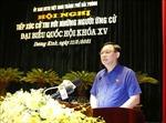 Chủ tịch Quốc hội vận động bầu cử tại quận Dương Kinh, Hải Phòng