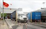 Quản lý sinh hoạt tập trung đội lái xe chuyên trách tại cửa khẩu Tân Thanh