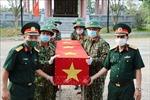 Đón nhận 14 hài cốt liệt sĩ hy sinh tại Lào