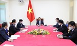 Thủ tướng Phạm Minh Chính điện đàm với Thủ tướng Pháp Jean Castex