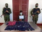 Bắt giữ đối tượng vận chuyển số lượng lớn ma túy ở biên giới tỉnh Nghệ An