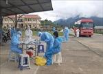 Lai Châu tiếp nhận công dân từ Bắc Giang về cách ly