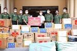 Trao tặng vật tư y tế, nhu yếu phẩm hỗ trợ phòng, chống dịch tại Tây Ninh