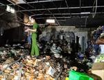 Cháy kho chứa bao bì, thiệt hại khoảng 1,5 tỷ đồng ở Cần Thơ