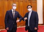 Thủ tướng Phạm Minh Chính tiếp Phó Tổng thống Liên bang Thụy Sỹ Ignazio Cassis