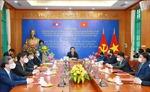 Việt Nam và Lào tổng kết hợp tác, trao đổi lý luận và đào tạo, bồi dưỡng cán bộ