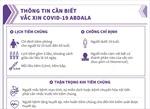 Những lưu ý khi tiêm vaccine phòng COVID-19 Abdala