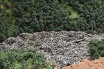 Khắc phục sự cố sạt lở bãi chứa rác thải do mưa lớn tại thành phố Đà Lạt