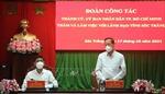 TP Hồ Chí Minh chia sẻ kinh nghiệm, hỗ trợ Sóc Trăng trong phòng, chống dịch