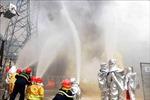 Diễn tập phương án chữa cháy tại Nhà máy Thủy điện Sơn La
