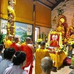 Chùa Phật tích tại Lào tổ chức lễ truy điệu Đại lão hòa thượng Thích Phổ Tuệ
