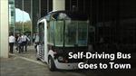 Chạy thử thành công xe buýt tự lái tại 'xứ kim chi'