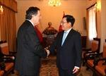 WEF ASEAN 2018: Phó Thủ tướng Phạm Bình Minh tiếp Bộ trưởng Ngoại giao Chile