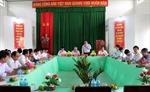 Đồng chí Phạm Minh Chính làm việc với Tỉnh ủy Sóc Trăng