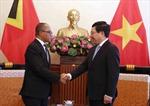 Thúc đẩy hợp tác Việt Nam - Timor-Leste trên các lĩnh vực tiềm năng