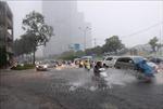 Mưa lớn trên diện rộng gây ngập nhiều khu vực trũng thấp tại TP Hồ Chí Minh