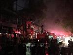 Hỗ trợ thân nhân của hai vợ chồng thiệt mạng trong vụ cháy ở đường Đê La Thành