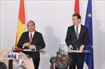 Tuyên bố báo chí chung Việt Nam - Áo