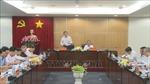 Đoàn công tác Trung ương làm việc tại Bình Dương về phòng, chống tham nhũng và cải cách tư pháp