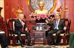 Lãnh đạo Thành phố Hồ Chí Minh tiếp Bộ trưởng Quốc phòng Hoa Kỳ