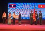 Trường Lê Duẩn đón nhận Huân chương Lao động hạng Ba của Nhà nước Lào tặng