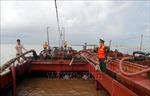 Nam Định: Bắt quả tang 2 tàu hút cát trái phép trên biển