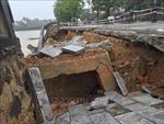 Mưa lũ gây nhiều thiệt hại tại các địa phương
