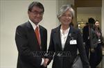 Ngoại trưởng Nhật Bản và Hàn Quốc trao đổi về bồi thường chiến tranh