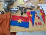 Sưu tầm hơn 120 hiện vật trong hai cuộc kháng chiến chống Pháp và Mỹ